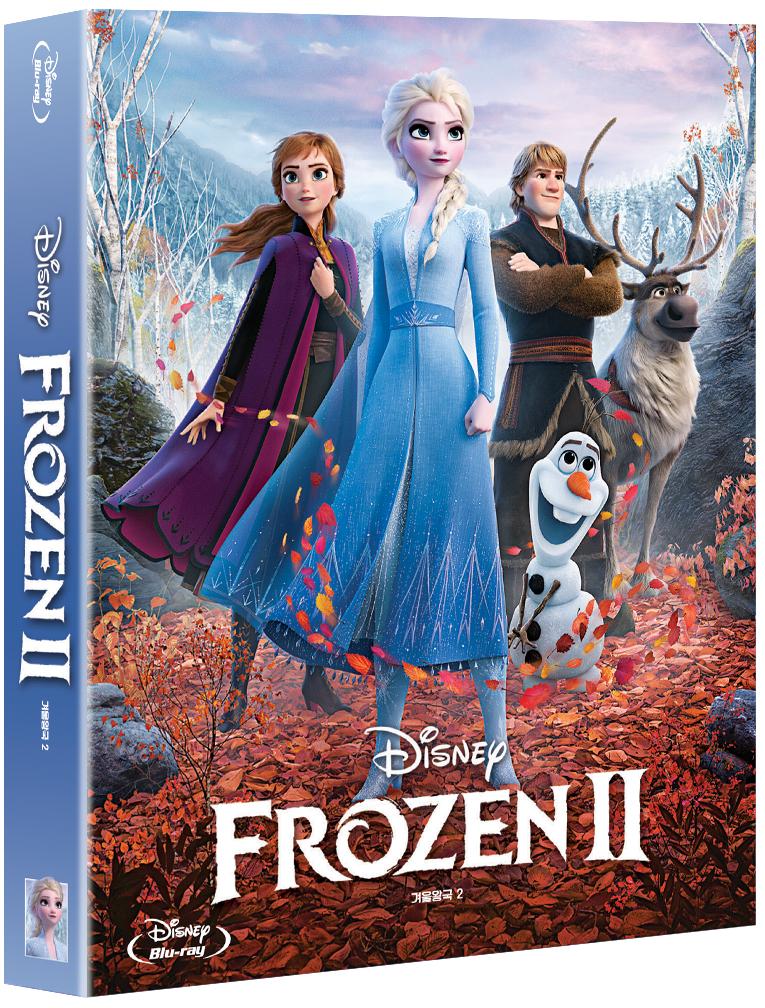 [Blu-ray] 겨울왕국 2 풀슬립 스틸북(2Disc: BD + OST CD) 한정판