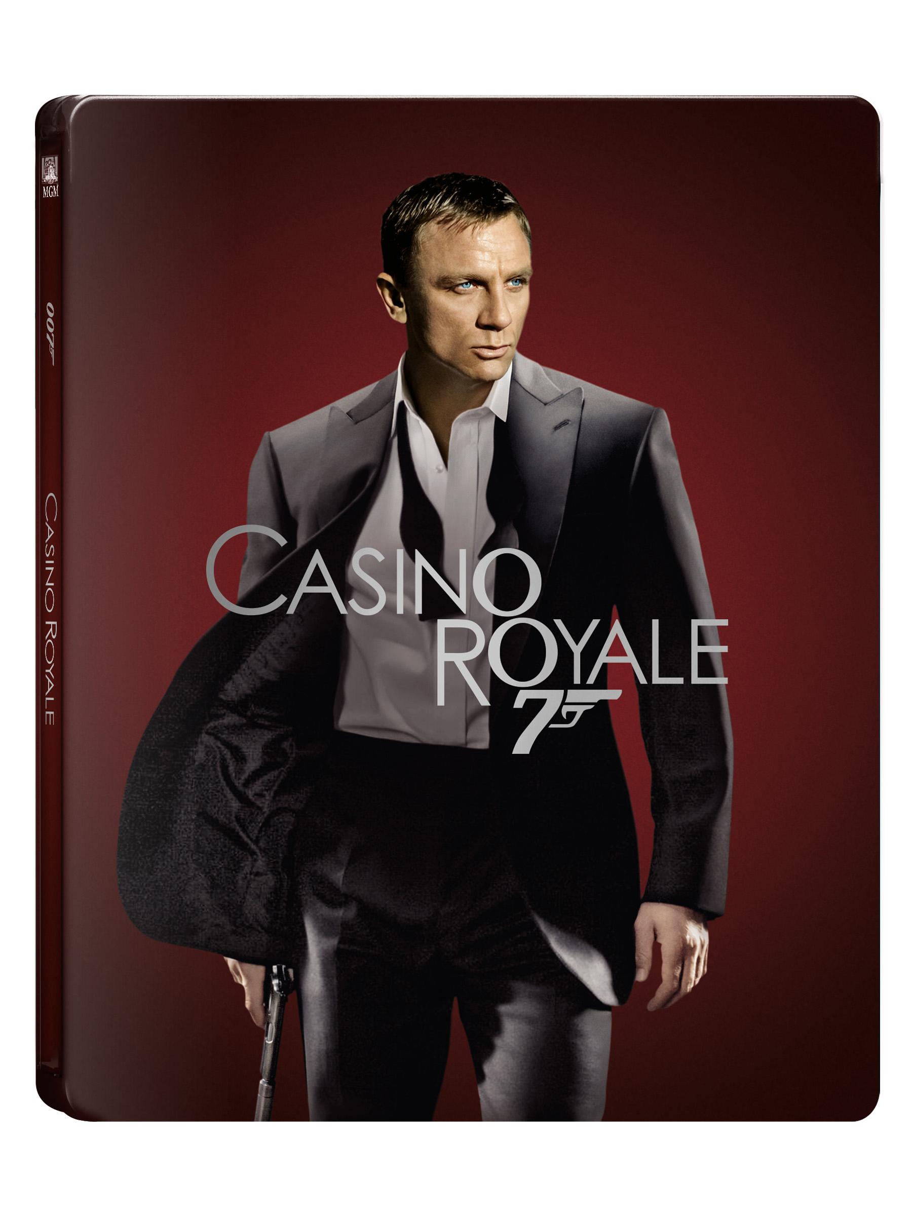 [Blu-ray] 007 카지노 로얄 4K(2Disc: 4K UHD+BD) 스틸북 한정판