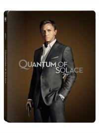 [Blu-ray] 007 퀀텀 오브 솔러스 4K(2Disc: 4K UHD+BD) 스틸북 한정판