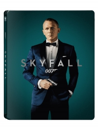 [Blu-ray] 007 스카이폴 4K(2Disc: 4K UHD+BD) 스틸북 한정판