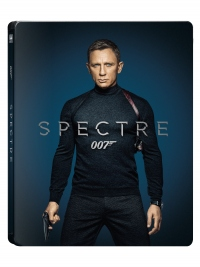 [Blu-ray] 007 스펙터 4K(2Disc: 4K UHD+BD) 스틸북 한정판