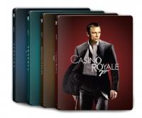 [Blu-ray] 다니엘 크레이그 007 4K 스틸북 한정판 4종