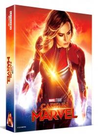 [Blu-ray] 캡틴 마블 렌티큘러 풀슬립 B(2Disc: 4K UHD+2D) 스틸북 한정판(Weetcollection Exclusive No.5)