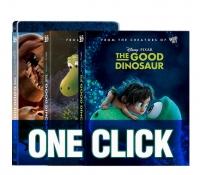 [Blu-ray] 굿 다이노 원클릭(3D + BD)  스틸북 한정판
