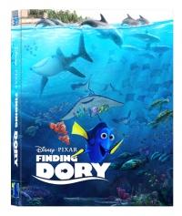 [Blu-ray] 도리를 찾아서 렌티큘러(오링케이스)(3Disc: 3D+ BD+Bonus BD) 스틸북 한정판