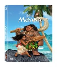 [Blu-ray]  모아나 풀슬립(2Disc: 3D + BD)  스틸북한정판