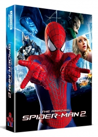 [Blu-ray] 어메이징 스파이더맨 2 렌티클러 풀슬립(3disc: 4K UHD+3D+BD)스틸북 한정판(Weetcollcection Exclusive No.7)