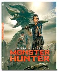 [Blu-ray] 몬스터 헌터 A Type 풀슬립 4K(2Disc: 4K UHD + BD) 스틸북 한정판(Weetcollcection Collection No.21)(05월 07일 오후 2시 예약 판매)