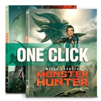 [Blu-ray] 몬스터 헌터 원클릭 4K(2Disc: 4K UHD + BD) 스틸북 한정판(Weetcollcection Collection No.21)(05월 07일 오후 2시 예약 판매)